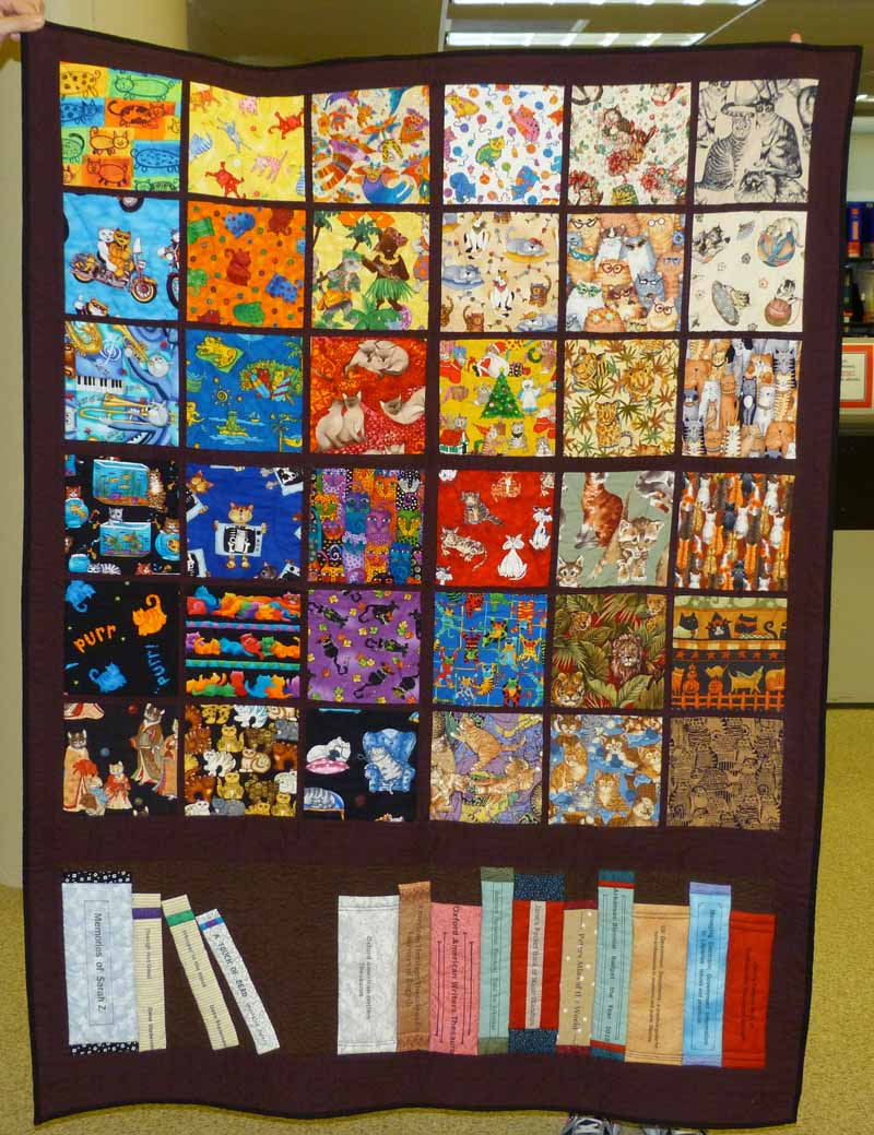 Memorial Quilt For Sarah Ziegenbein At Library