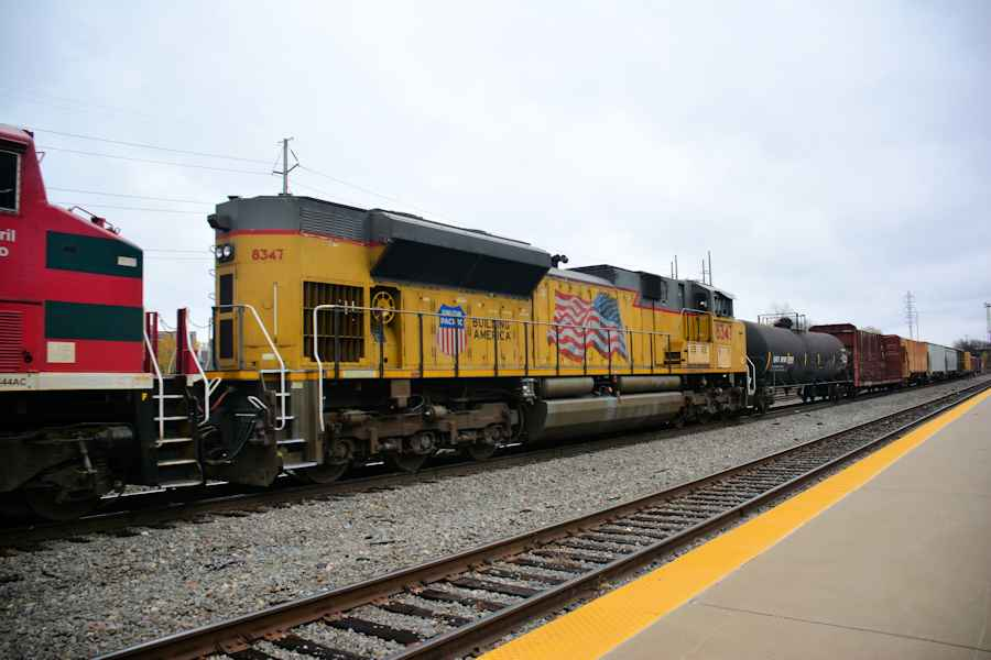 Cool Day With Trains Little Rock November 22 2013